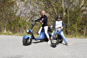 Bilde av Harley Scooter 1500w 60v